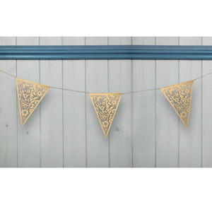 Laser Cut Kraft Lace Design Bunting