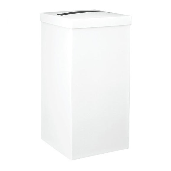 Extra Large Plain White Post Box