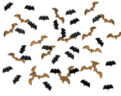 Halloween Table Confetti -  'Bats'
