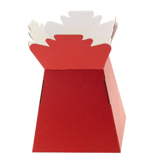 Red Living Vase Box