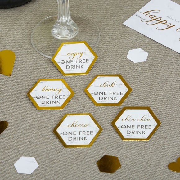Scripted Marble Drinks Tokens