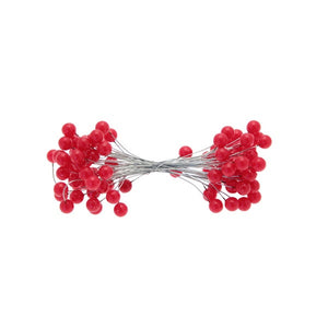 Bright Red Double Ended Berries