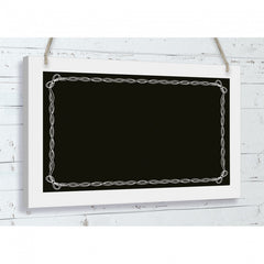 'Bow Surround' Wooden Chalkboard