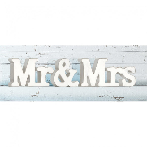 Mr and Mrs Wooden Blocks