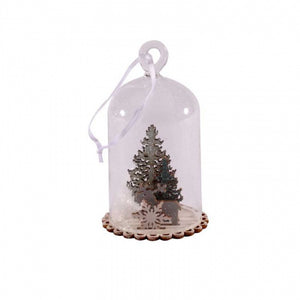 Hanging Christmas Dome Decoration