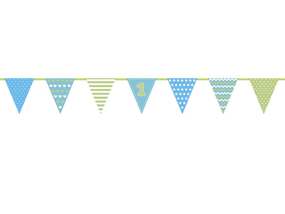 1st Birthday Banner (Boy)
