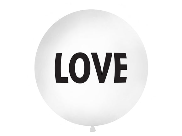 1 Metre Balloon - 'Love'