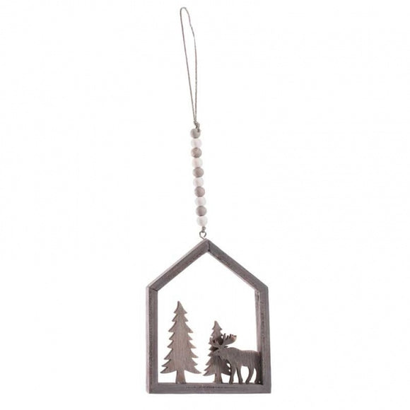 Hanging Wooden Christmas Decoration