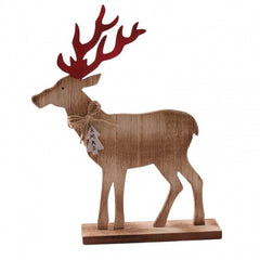 Large Wooden Reindeer