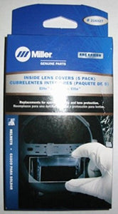Miller 216327 4 1/4 x 2 1/2 Inside Lens Cover For use with Elite, Digital Elite and Titanium 9400/9400i helmets by Miller Electric