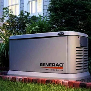 Generac 6438  11,000 Watt Air-Cooled Steel Enclosure Gas Powered Standby Generator with 200-Amp Smart Transfer Switch