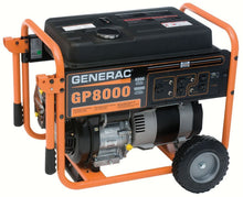 Generac 5680 GP8000 10,000 Watt 410cc OHV Portable Gas Powered Generator (Discontinued by Manufacturer)