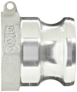 Dixon Aluminum 356T6 Boss-Lock Type A Cam and Groove Fitting, Plug x NPT Female