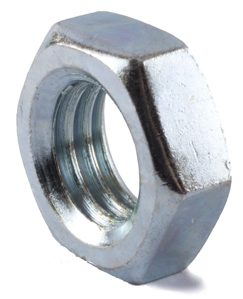 7/8-14 Hex Jam Nut Zinc Plated (15)