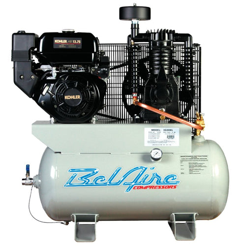Belaire Two Stage Engine-Powered Reciprocating Air Compressor 12Hp