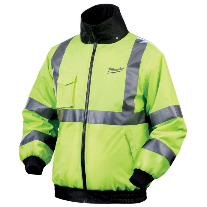 Milwaukee M12 Cordless High Vis Heated Jacket Kit
