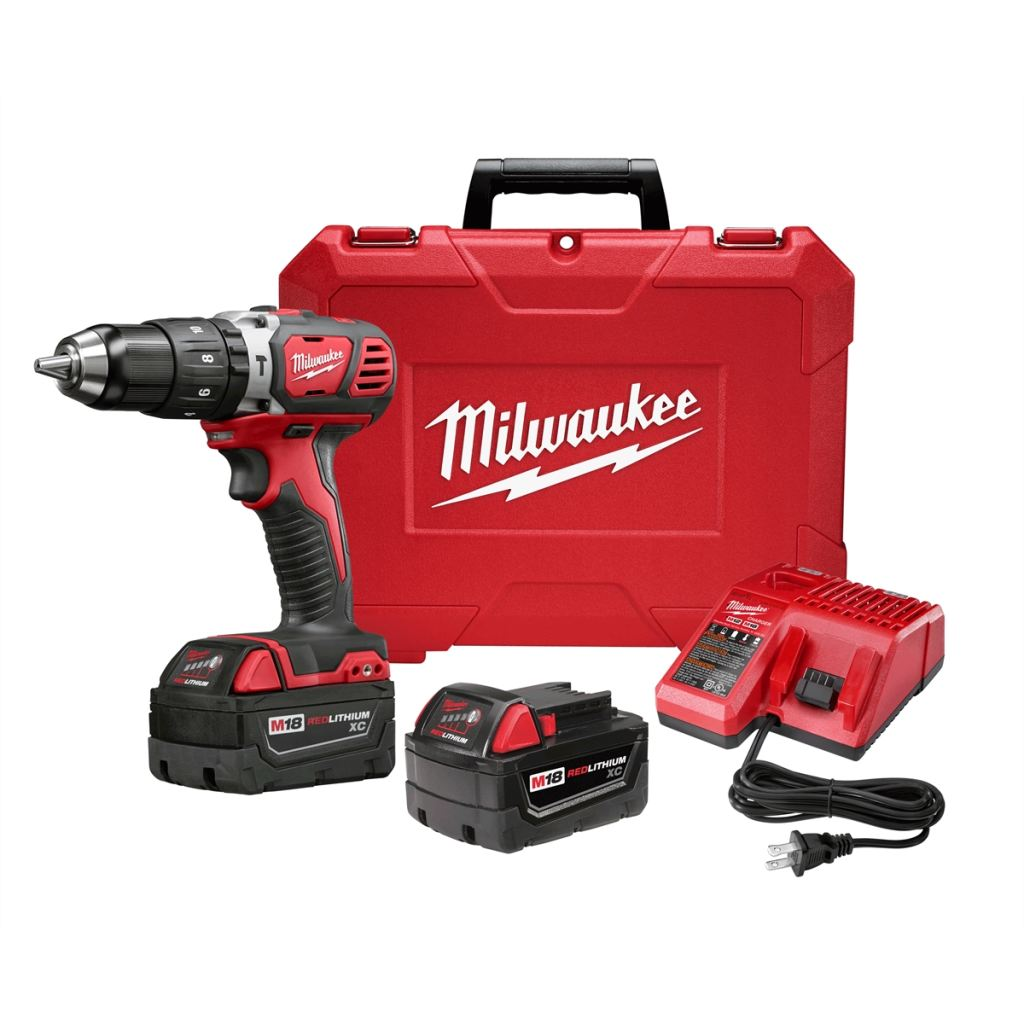 Milwaukee M18 1/2 Compact Hammer Drill/driver Kit