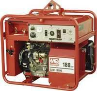 Multiquip Gaw180Hea Gasoline Powered Welder/generator With Honda Motor 3000 Watt 50-180 Amps
