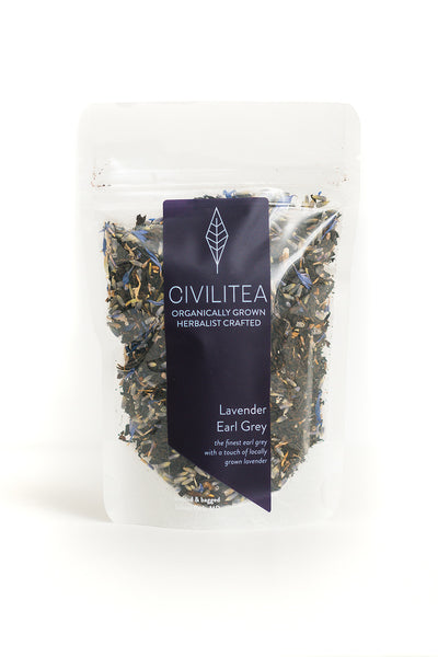 Lavender Earl Grey Dry Leaf Tea
