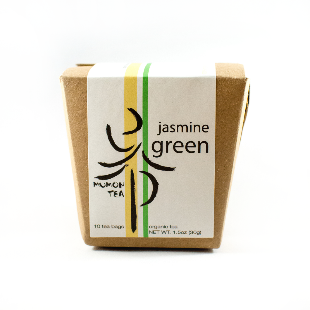 Jasmine Green Organic Whole Leaf Tea