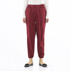 Canvas Pants Maroon