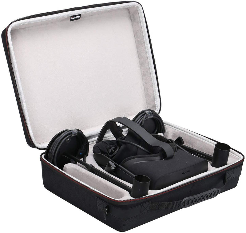 LTGEM EVA Hard Case for Oculus Rift + Touch Virtual Reality System - Travel Carrying Storage Bag