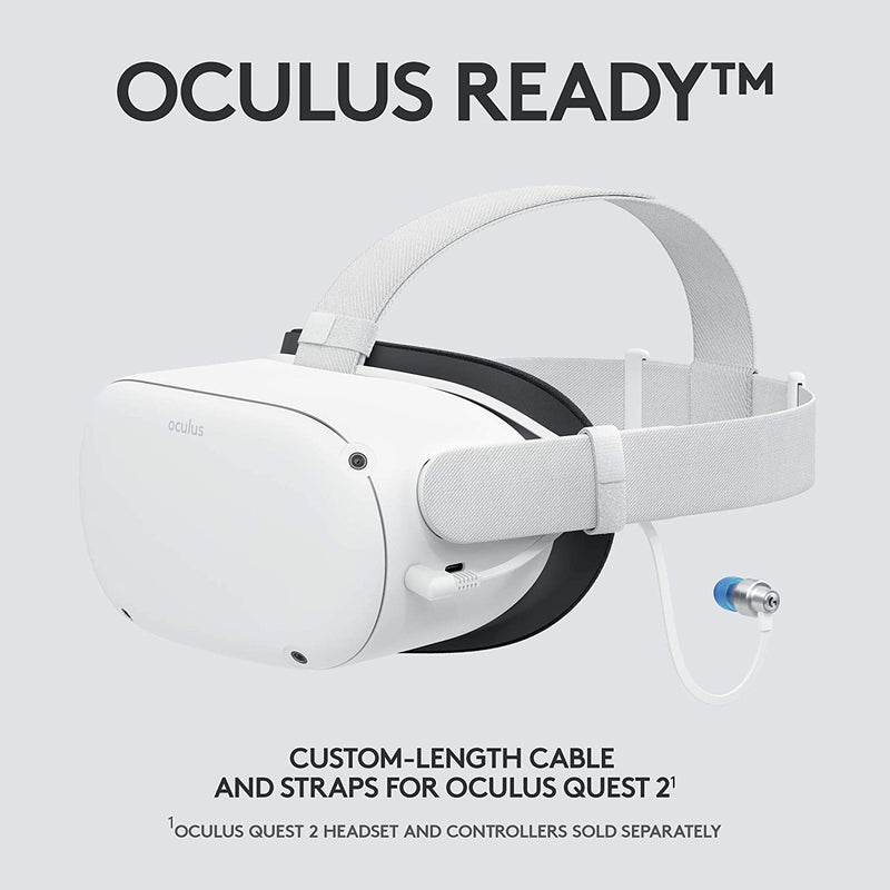 Logitech G333 VR Gaming Earphones for Oculus Quest 2