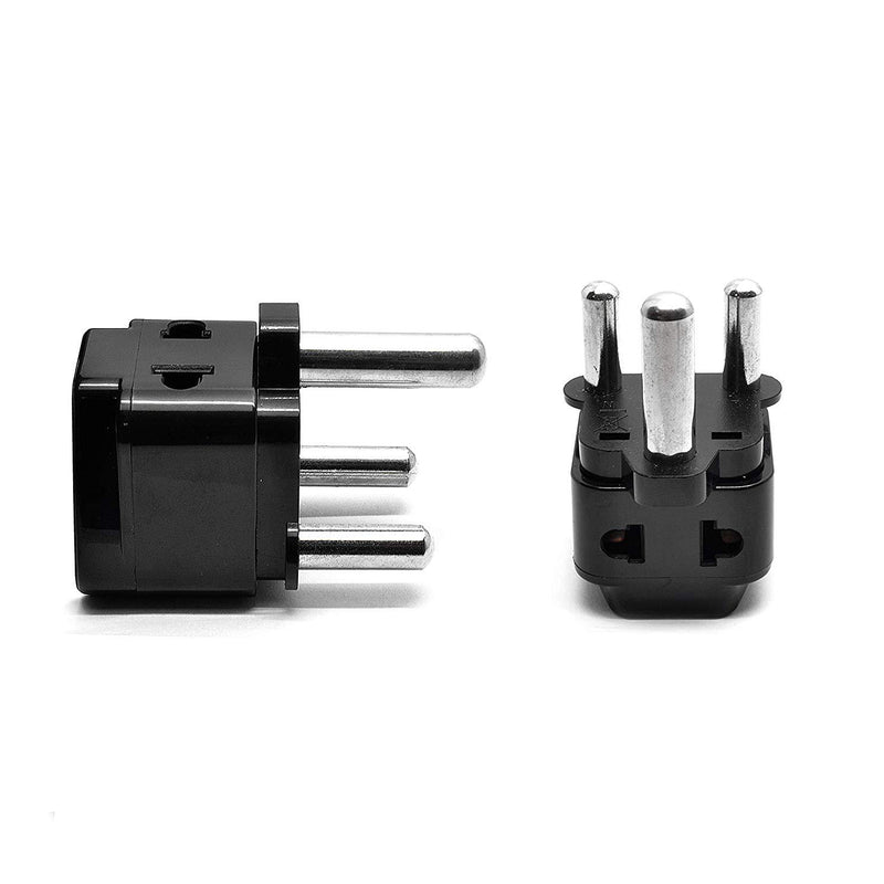 OREI UK/USA to South Africa Adapter Plug (2 Adapters)