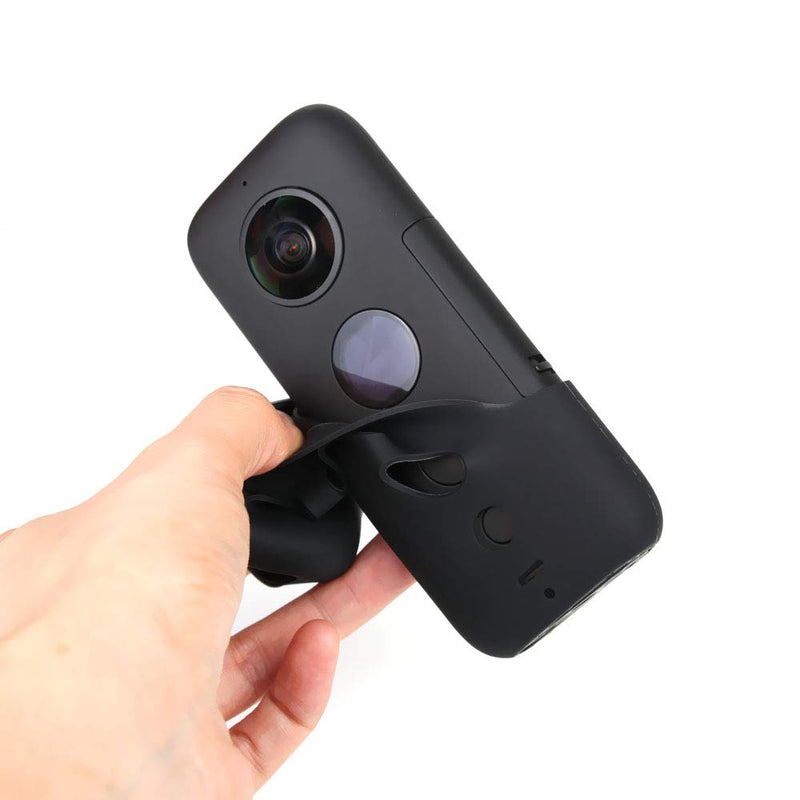 UniOEM Silicone Protective Cover Case for Insta360 ONE X Camera (Black)