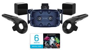 HTC VIVE Pro Virtual Reality System Starter Kit