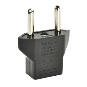Inovat US to South Africa 2 Pin Plug Adapter (1-Pack)