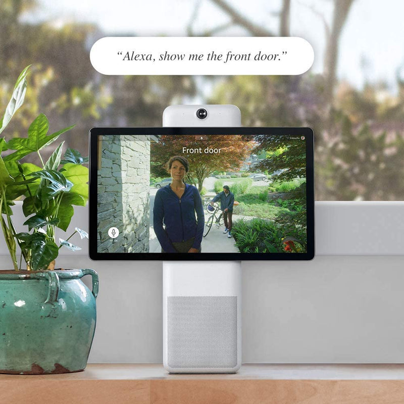 Facebook Portal Plus Smart Video Calling 15.6 inch Touch Display with Alexa - White