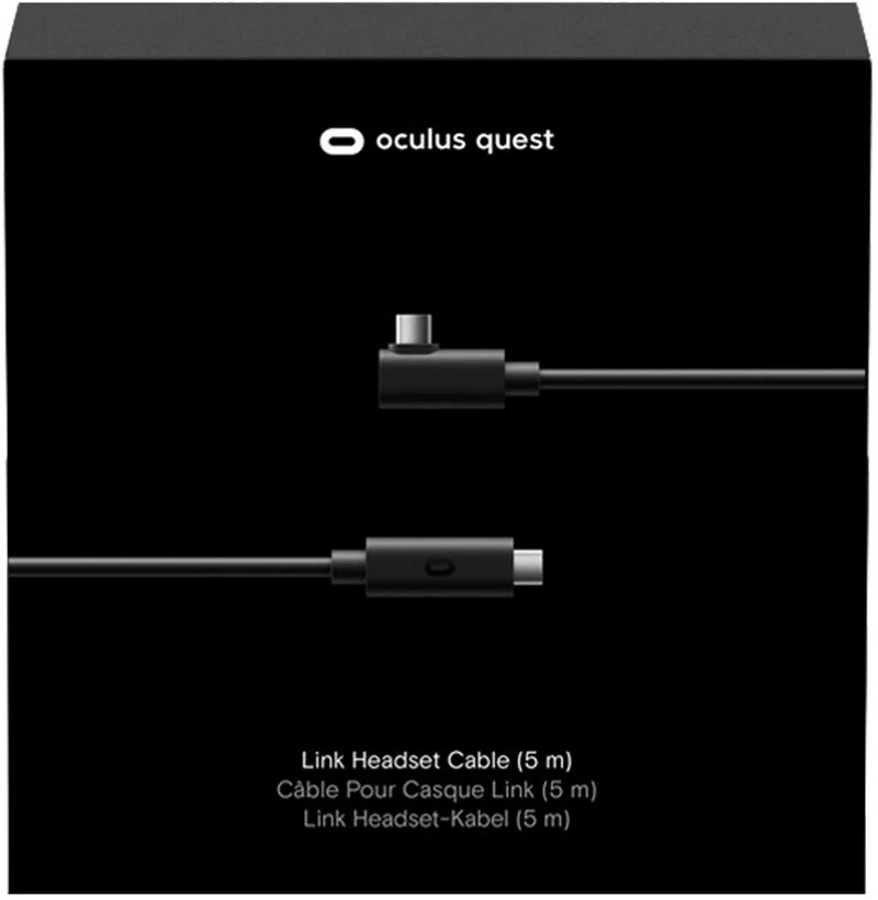 Oculus Link Virtual Reality Headset Cable for Quest 2 and Quest (2019) - 5M