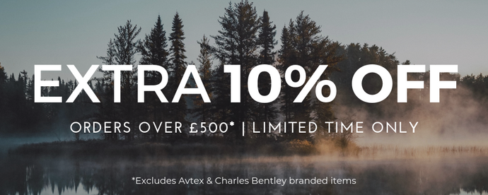 Get Ready for the 2019 Season with 10% off orders over £500