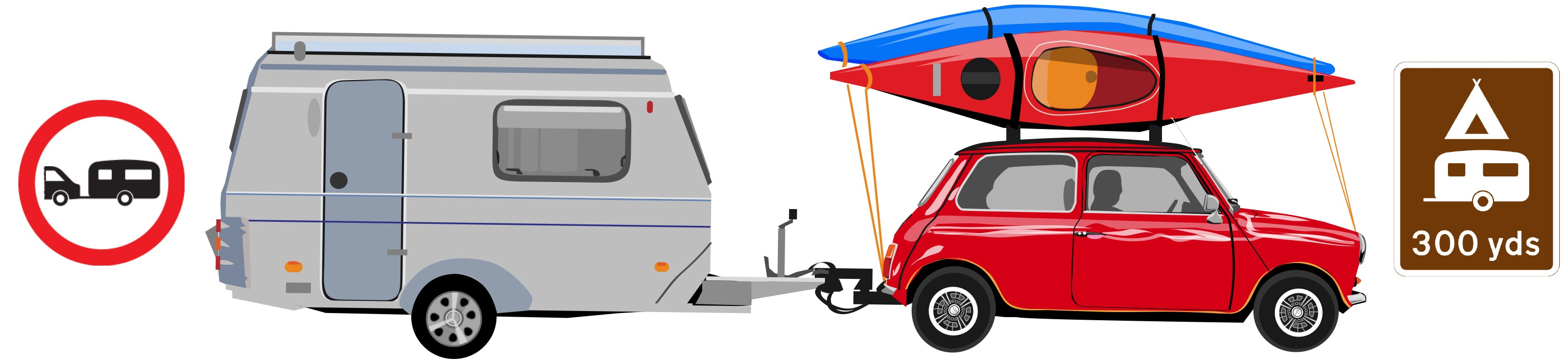 Illustration of motorhome