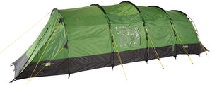 Yellowstone Lunar 6 Camping Tent - Green & Charcoal