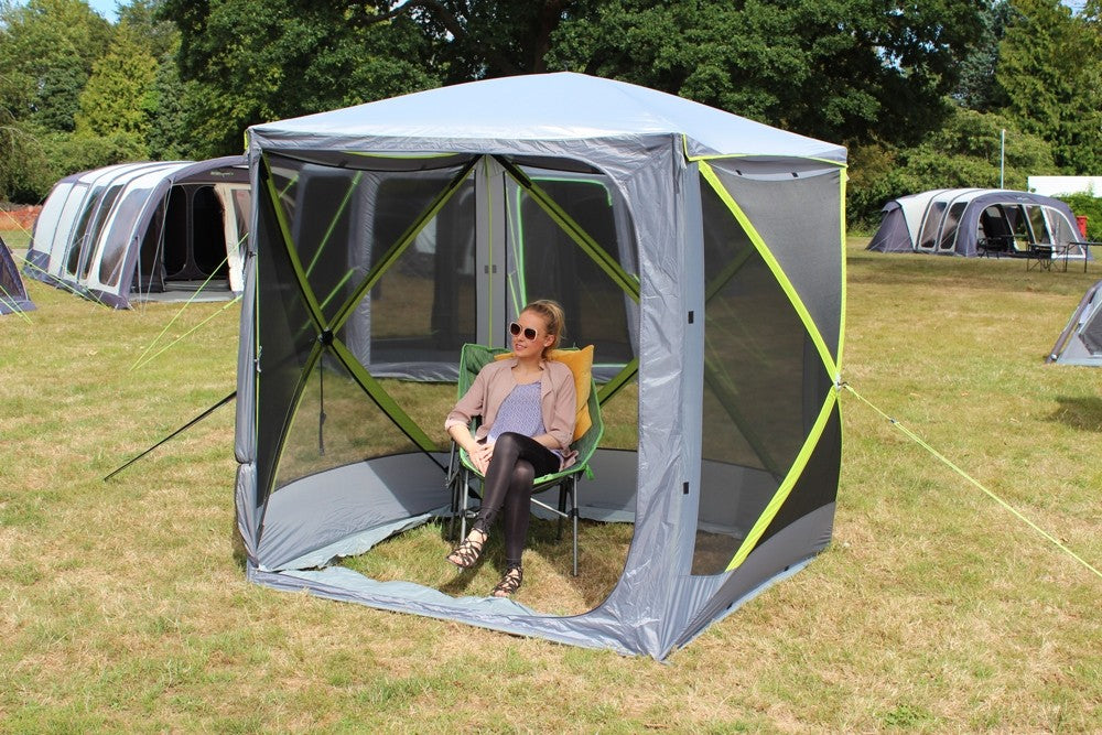 Outdoor Revolution Four Sided Cayman Screenhouse Pop Up Gazebo (2019)