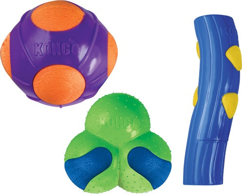 KONG DuraSoft Dog Toy - Various Designs
