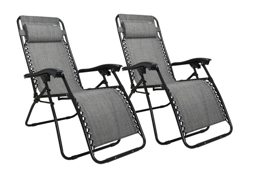 Quest Hampton Zero Gravity Relaxer Chairs - Pair