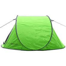 Charles Bentley 2 Man Instant Pop Up Camping Tent - Green