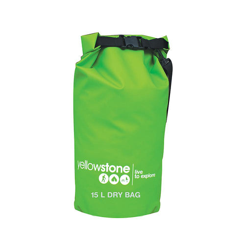 Yellowstone 15L PVC Waterproof Dry Bag