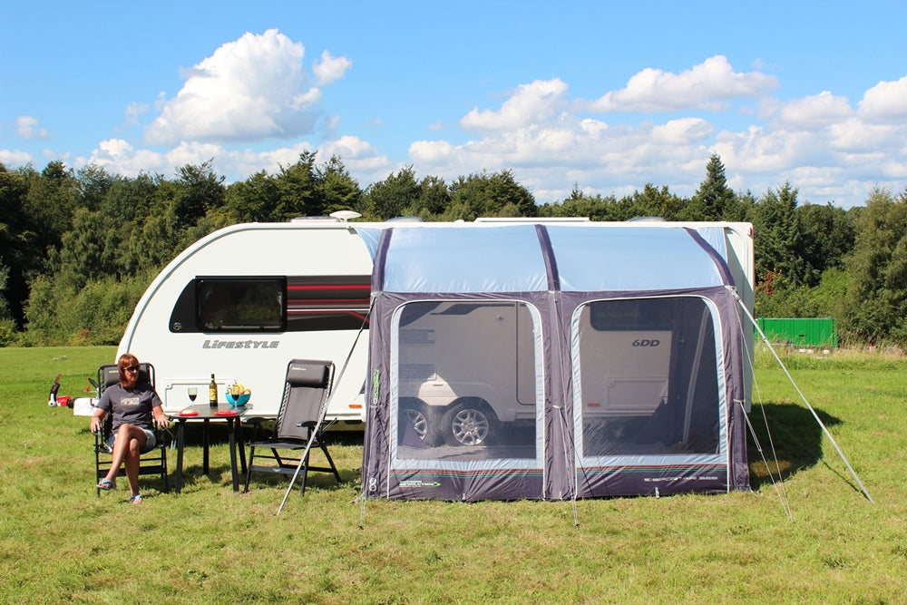 Outdoor Revolution E-Sport Air 325 XL Caravan Awning (2019)