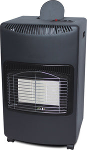 Elpine 4.2kw Gas Heater with Regulator and Hose