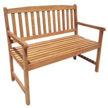 Charles Bentley Hardwood 2-3 Seater Patio Outdoor Bench