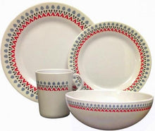 OLPRO Witley Melamine Dinner Set 16 Piece