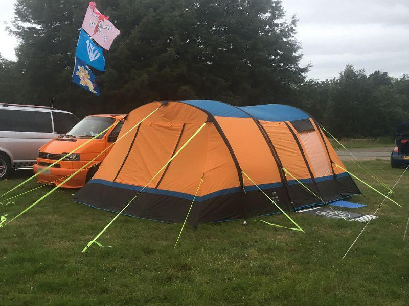 Olpro Cocoon Breeze Inflatable Drive Away Awning Orange