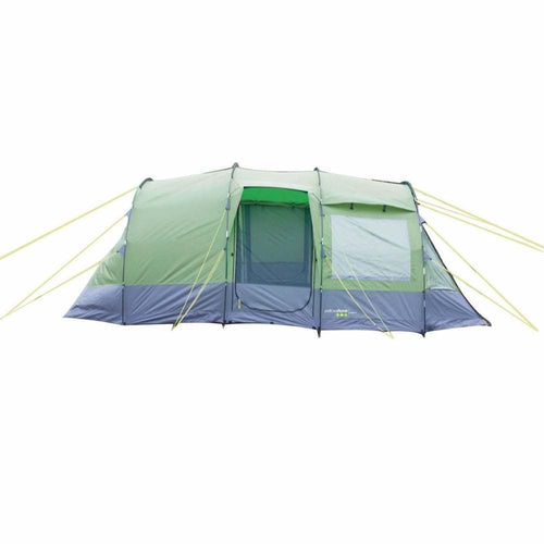 Yellowstone Lunar 4 Camping Tent - Green & Charcoal