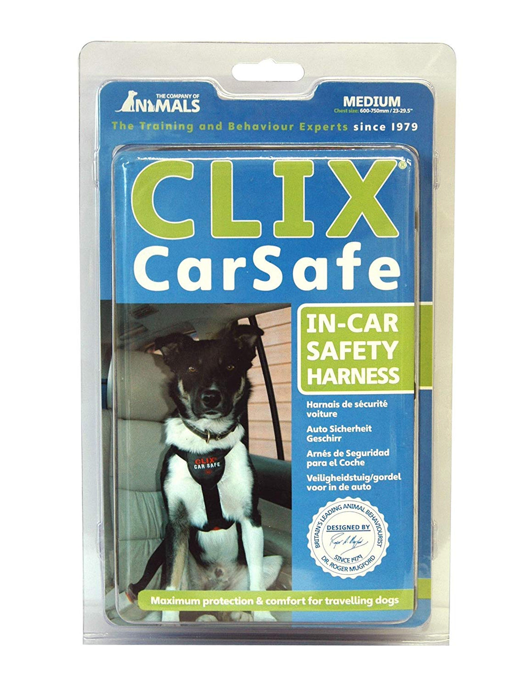 CLIX Car Safe Dog Harness - Various Sizes