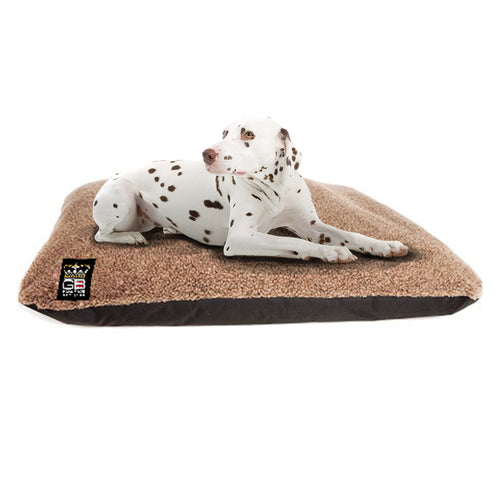 GB PetBeds Fleece Crumb Memory Foam Cushion Dog Bed