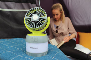 Outdoor Revolution 3 in 1 LUMI Lantern/Fan/Spotlight